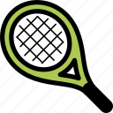 race, sport, tennis racket icon