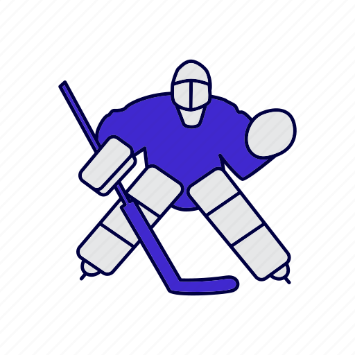 Goalie Hockey Ice Score Icon