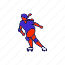 derby, roller, skate icon
