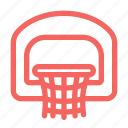 basketball, basketball hoop, hoop, ring, sports icon