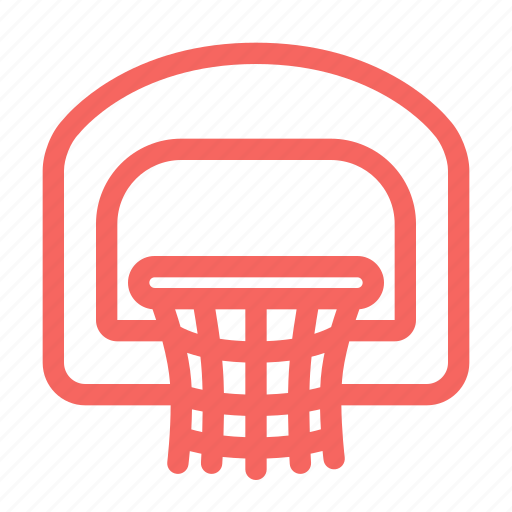 basketball, basketball hoop, hoop, ring, sports icon