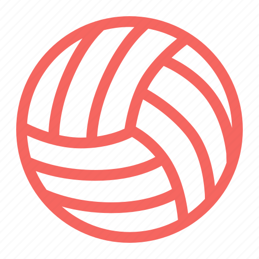 ball, play, sports, volley, volley ball icon