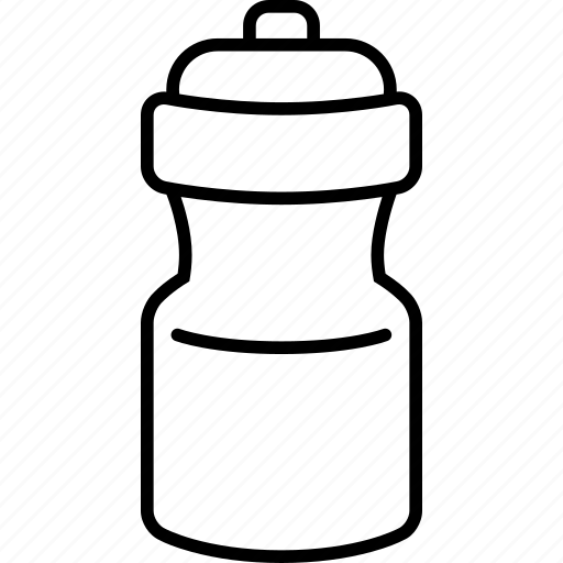 bottle, drink, gym, gym bottle, water bottle, workout icon