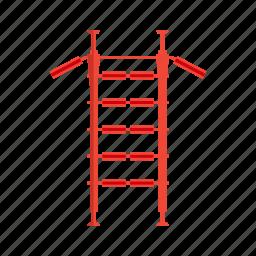 equipment, sport, wall bars icon