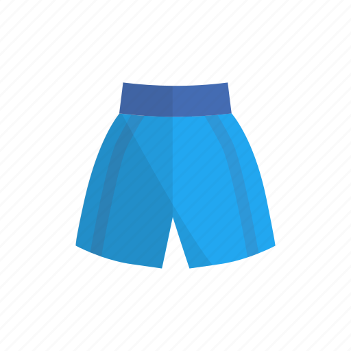 equipment, shorts, sport icon