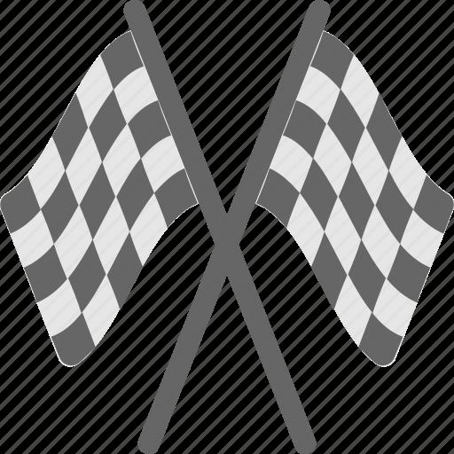 flagpole, flags, race, race flag, sports icon