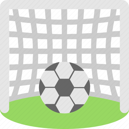 football, goal, playground, soccer, sports icon