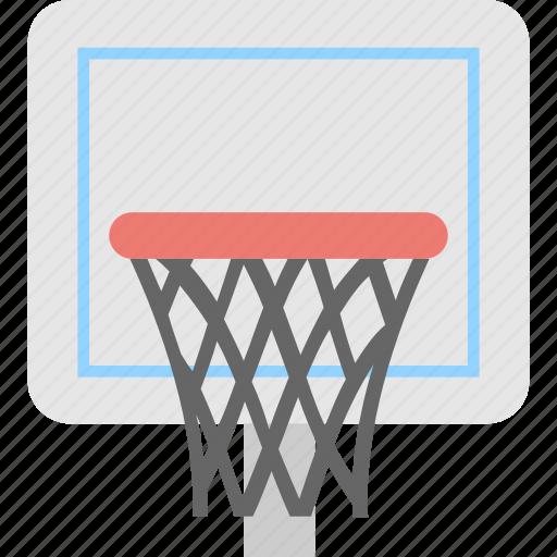 backboard, basketball, net, play, sports icon