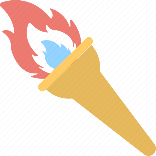fire, flame, olympic fire, olympic torch, torch fire icon
