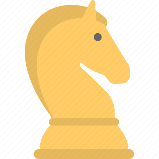 chess, chess knight, chess piece, horse, sports icon