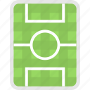 football ground, ground, pitch, soccer field, stadium icon