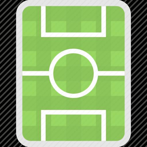 football ground, ground, pitch, soccer field, stadium icon