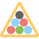 balls, billiard, pool balls, snooker, snooker balls icon