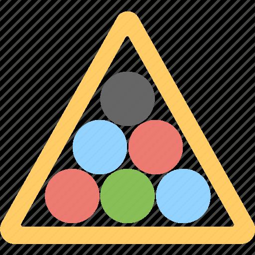 balls, billiard, pool balls, snooker, snooker balls icon