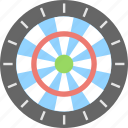 bullseye, dartboard, shooting, sports, target icon