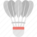 badminton, birdie, game, shuttlecock, sports icon