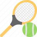 ball, racket, sports, tennis, tennis bat icon