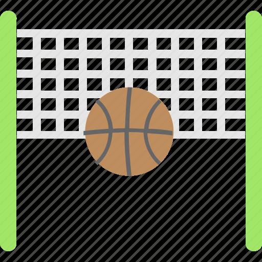 basketball, goal, goal net, net, sports icon
