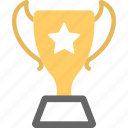 award, first place, prize, trophy, winner icon