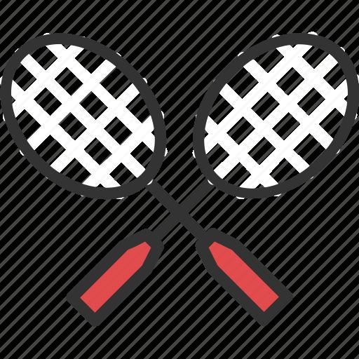badminton, game, rackets, squash, tennis icon