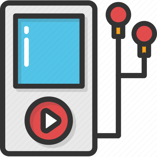 ipod, mp4 player, multimedia, music player, walkman icon
