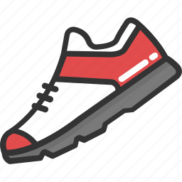 footwear, jogging shoes, sneaker, sneaker shoes, trainers shoes icon