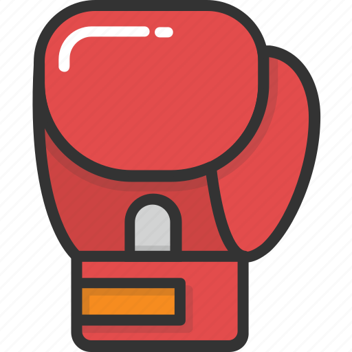 boxing, boxing gloves, cushioned gloves, punch gloves, sports gloves icon