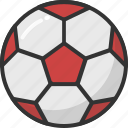field ball, football, soccer, sports, sports equipment icon