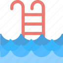 fitness, pool, swimming, swimming pool, water icon