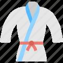 judo suits, karate, clothing, martial arts, uniform icon