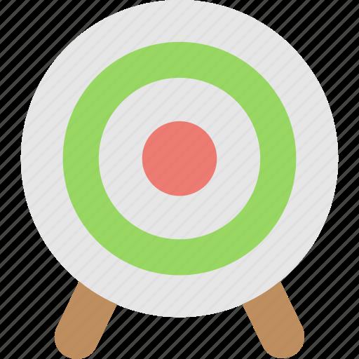 bullseye, dartboard, shooting, sports, target icon