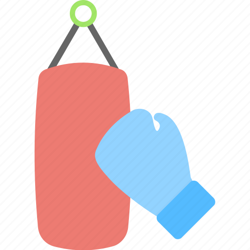 boxing, fitness, glove, punching bag, speed bag icon