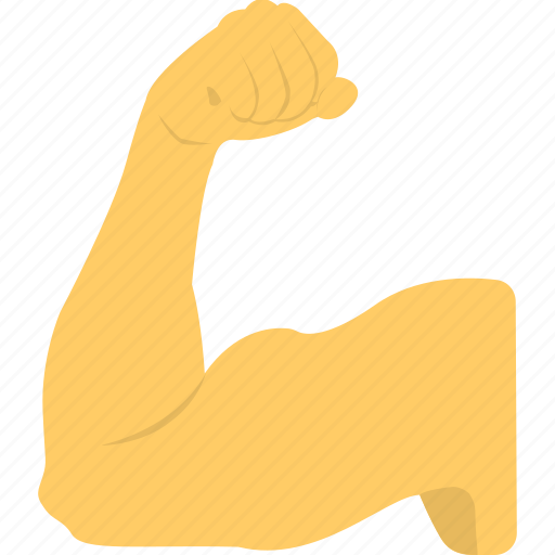 bicep, bodybuilding, fitness, muscle, weightlifter icon