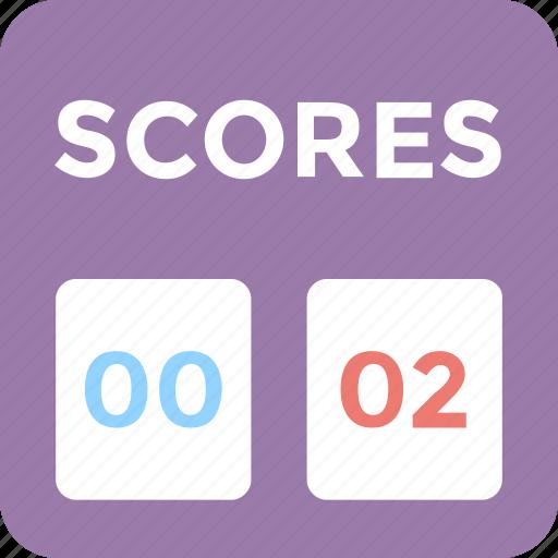counts, game, game score, scoreboard, scores icon