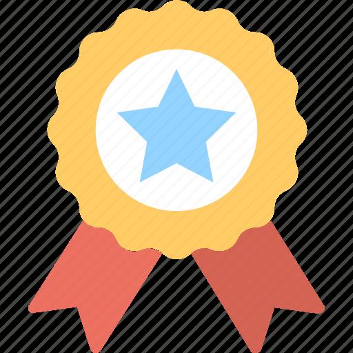 badge, medal, prize, rank, reward icon
