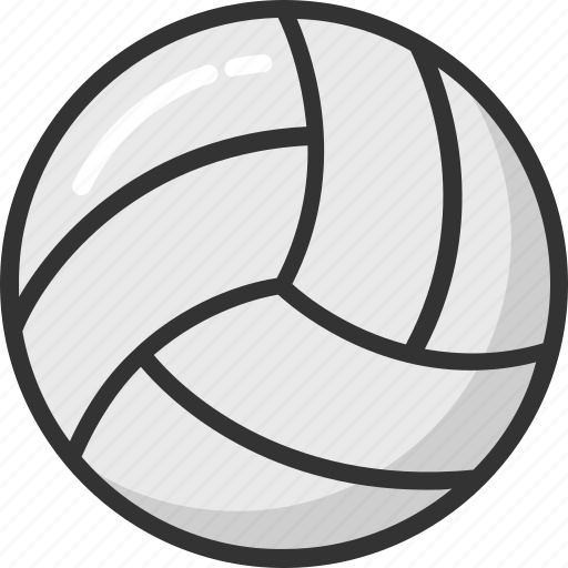 ball, game, sports ball, sports equipment, volleyball icon
