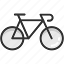 bicycle, bike, cycle, cycling, pedal cycle icon