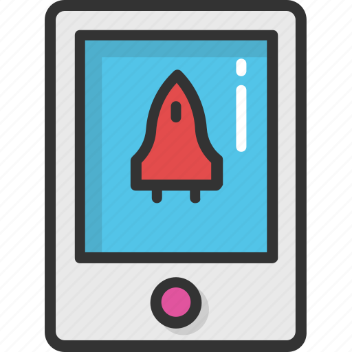 game application, gameboy, mobile game, playstation, rocket mobile game icon