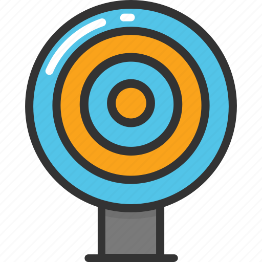 bullseye, dartboard, shooting, shooting board, target icon