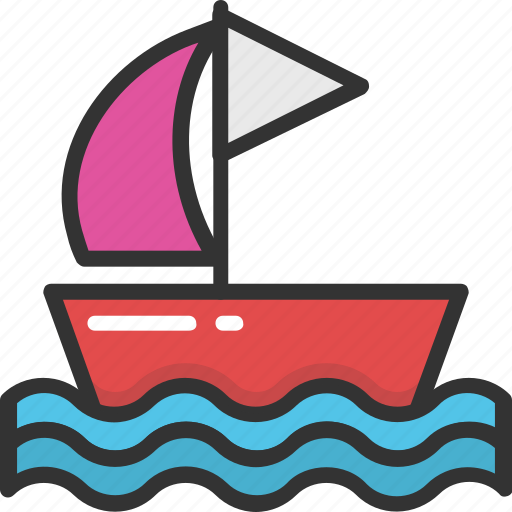 boat, boating, cruise, vessel, yacht icon
