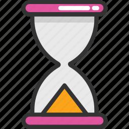 egg timer, hourglass, retro timer, sand timer, timer icon