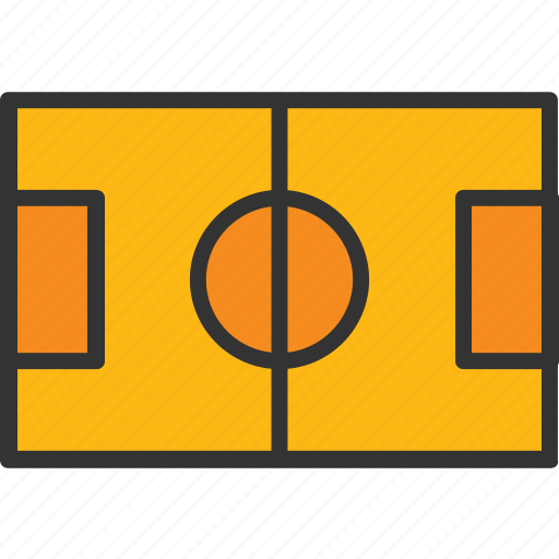 football field, football ground, football pitch, playground, soccer field icon