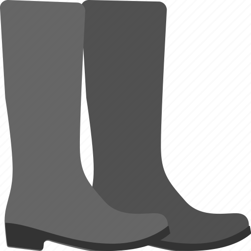 boots, fashion, footwear, long boots, shoes icon