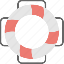 floating, life belt, life ring, safety, swimming icon