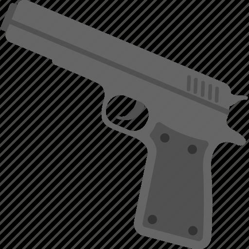 fireman, gun, handgun, pistol, weapon icon