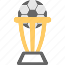 award, champion, prize, soccer trophy, winner icon