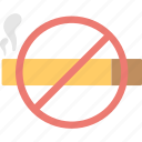 cigarette, forbidden, no smoking, restricted, tobacco icon