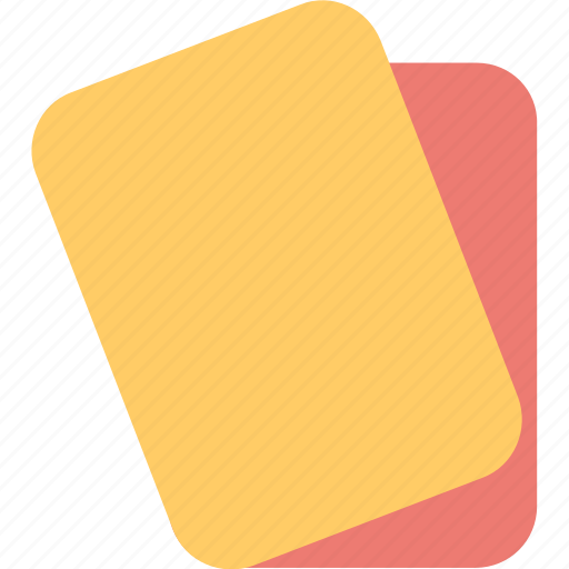card, foul, game, penalty card, referee icon