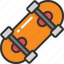 hoverboard, skate game, skateboard, skates, skating icon
