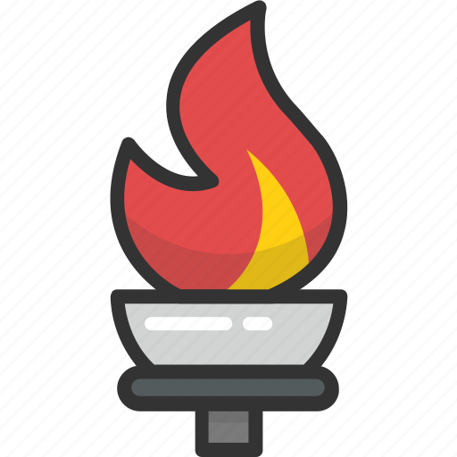 olympic fire, olympic flame, olympic torch, olympics game, torch fire icon